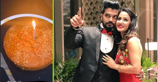 BF Rocky Jaiswal wishes B'day to Hina Khan with a special video overloaded with memories: Watch