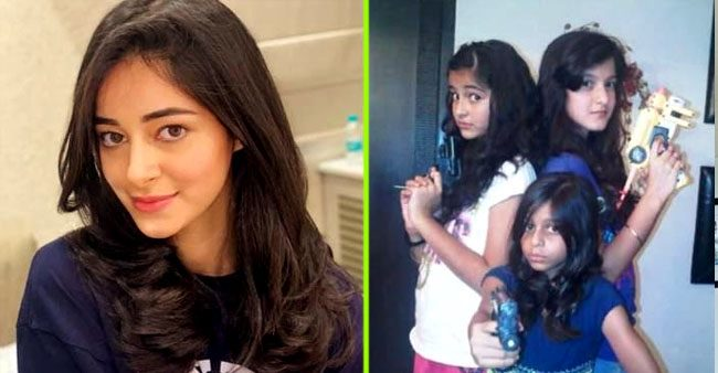 Ananya Panday's adorable childhood and family pictures that spell innocence