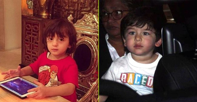 AbRam, Aaradhya, Taimur and others: Star kids and their swanky gifts they got from their parents