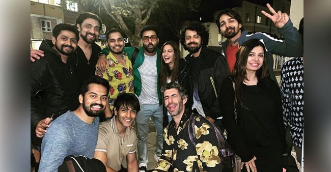Pulkit Samrat shares pictures from the wrap-up party of upcoming movie Taish