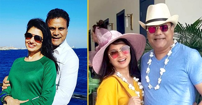 Bhagyashree took a journey down memory lane and shared a lovely picture with her hubby Himalaya