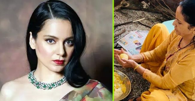 Kangana Ranaut shares a picture of her mom making season's first 'makki ki roti'