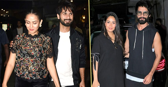 Shahid and Mira pictures as they match outfits and give us couple goals