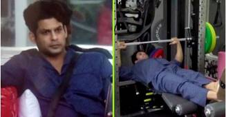 Fans can't keep calm as Sidharth Shukla works out wearing a night suit and slippers: Video