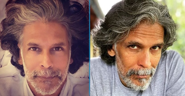 Milind Soman gives a befitting reply to a netizen calling him 'mixed blood', wifey Ankita finds it hilarious