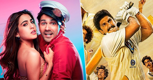 From 'Coolie No. 1′ to '83', movies ready to release in threatres from October 15