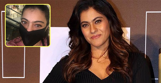 Kajol's weekend selfie features face mask as she asks fans to play 'Chor Police'
