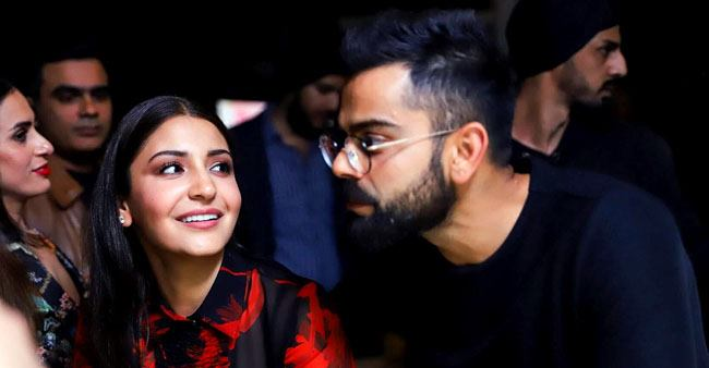Candid expressions of power couple Anushka and Virat that are too sweet to be missed; Pics