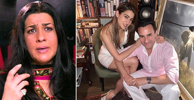 Amrita Singh disapproved one of her daughter Sara Ali Khan's partners, Saif had a different opinion