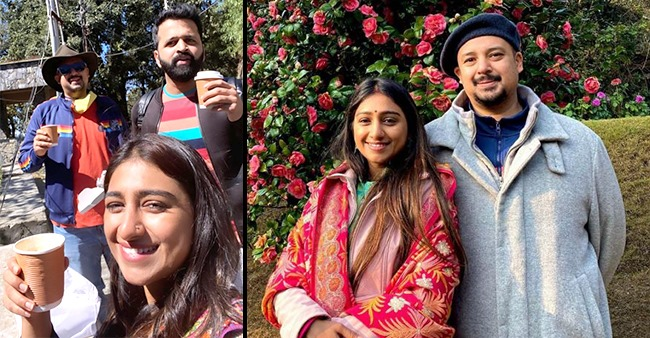 Mohena Kumari Singh shares a beautiful picture with hubby from their Mussoorie vacation