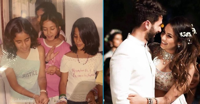 Mira Rajput's throwback picture from 2000 proves she was a fashionista even at age six