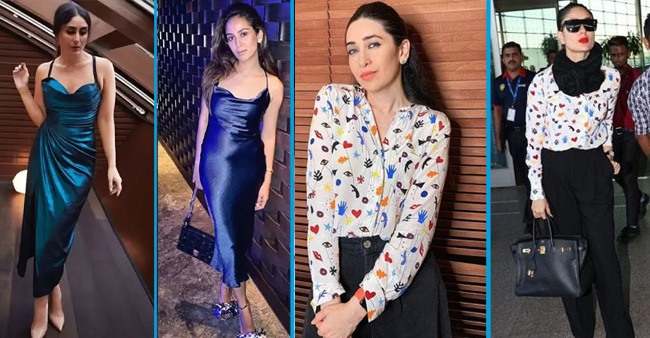 B-town divas including Kareena Kapoor and Mira Rajput that wore similar outfits but in different styles