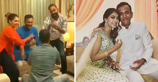Niti Taylor flaunts her chooda'and bridal glow as she dances with her friends and hubby