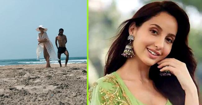 Nora Fatehi shares a video as she dances on the beach, says 'living my best life'