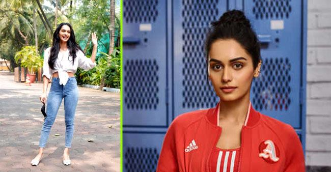 Former Miss World Manushi Chhillar spotted at a studio for 'Prithviraj' script reading