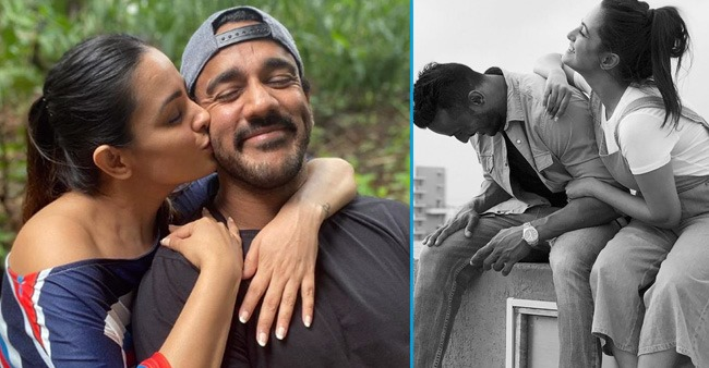 Rohit Reddy shares a beautiful monochrome picture with wifey Anita Hassanandani