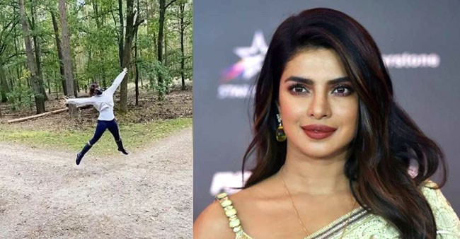 Priyanka Chopra Jonas is enjoying her time in Europe, her social media is proof