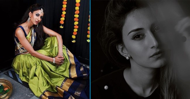Erica Fernandes's traditional look in a gorgeous saree gives us major festive vibes