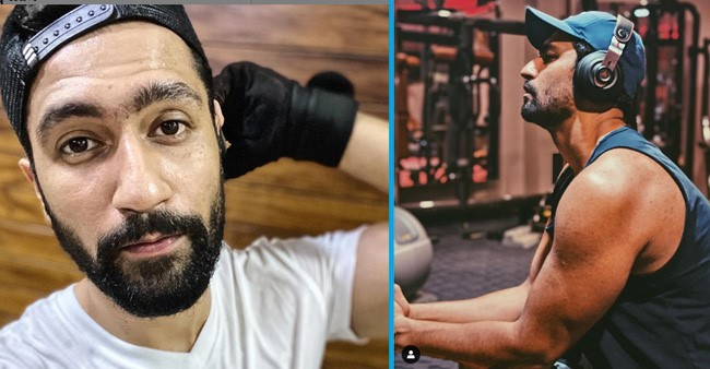 Vicky Kaushal treats his fans with a rugged picture right from the gym