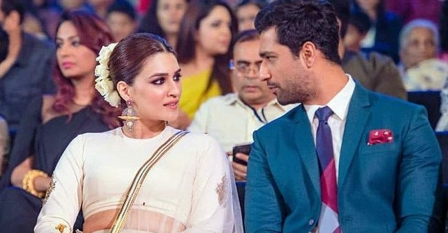 A candid throwback picture of Kriti Sanon and Vicky Kaushal that has taken over the internet
