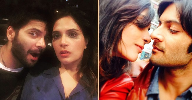 Ali Fazal shares a sweet photo with his girlfriend Richa Chadha on Instagram