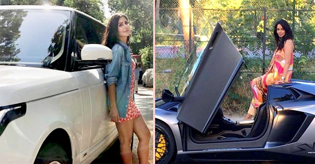 Bollywood actresses that own luxury cars as exotic as themselves