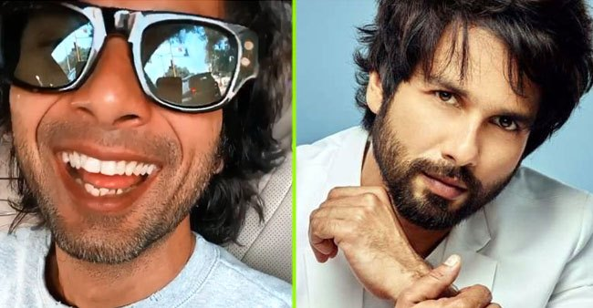 Shahid Kapoor expresses his fun mood with a new video, brother Ishaan comments 'it's the real you'