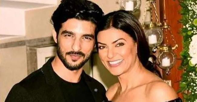 Sushmita Sen and Rohman Shawl's funny reply to a fan when asked about marriage
