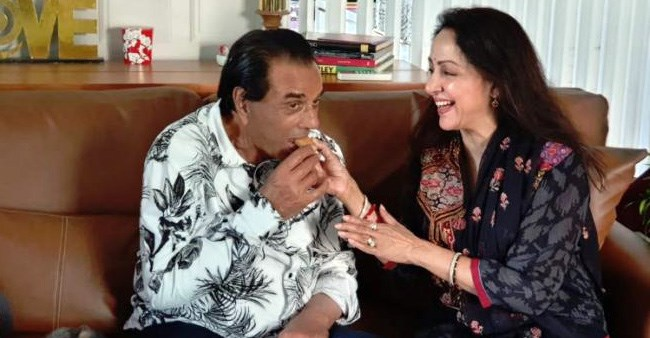 Hema Malini opens up about her married life with hubby Dharmendra