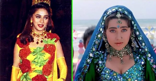 Outfits worn by Bollywood celebrities in 90s that we wish never existed