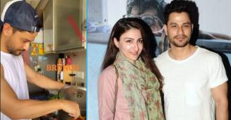 Soha Ali Khan shares glimpses as her hubby Kunal Kemmu cooks their Sunday brunch