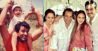 Unseen and adorable picture from Esha Deol's childhood with father Dharmendra