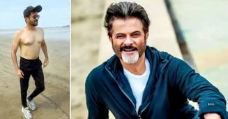 Anil Kapoor drops a sizzling shirtless picture at the age of 63, says 'this papa don't preach'
