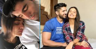 Divya Agarwal shares a picture with beau Varun Sood, says he 'woke up like this'