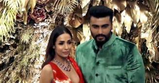 Arjun Kapoor and Malaika Arora's first official appearance as a couple