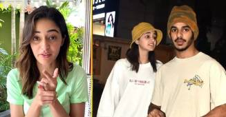 Ananya Panday reveals a few sweet details about her life in a latest quiz session