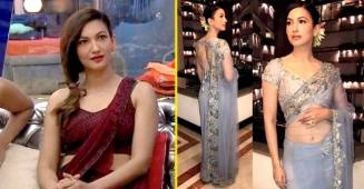 Gauahar Khan proves that you can never go wrong with a saree