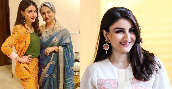 Soha Ali Khan shares an unseen monochrome picture of her mother, Sharmila Tagore