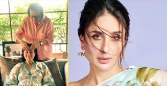 Babita Kapoor pampers her daughter Kareena with 'Maa Ke Haath Ki Maalish'