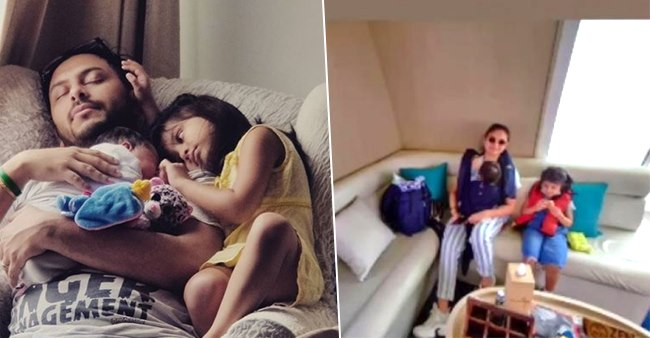 Dimpy Ganguly Vacays With Hubby & Kids In Maldives, Pics Are Delightful