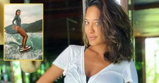 Lisa Haydon Loves Surfing & Her Recent Insta Pic Is A Proof; View Pic