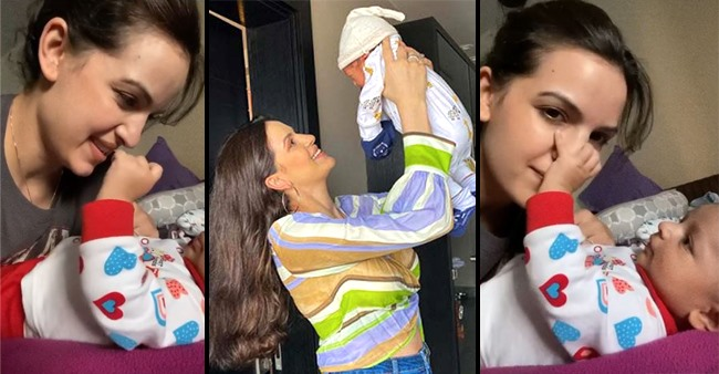 Natasa Stankovic Shared A Cute Video Of Her Playtime With Her Little Munchkin, Agastya