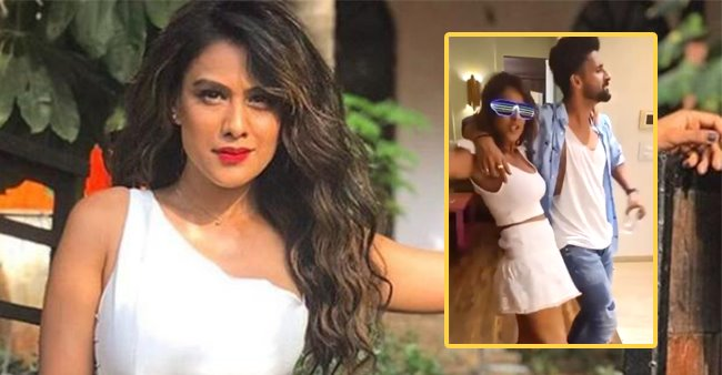 On Sargun's Delayed Birthday Bash, Nia's Dance With Actress's Domestic Help Wins Hearts