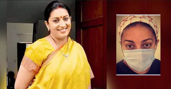 Smriti Irani Shares Her Pic Wearing A Mask; Says 'New Normal Is Now 8-Mths Old & Counting'