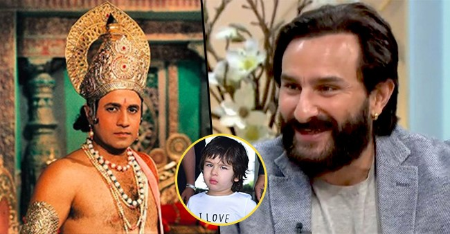 Taimur Is Fond Of Ramayana And Thinks Himself To Be Lord Ram, Reveals Dad Saif