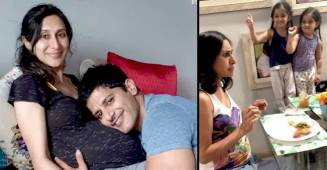 Karanvir Tries To Eat Expecting Wife Teejay's Yummy Food, Twins Bella & Vienna Save Mom's Food & Celebrate