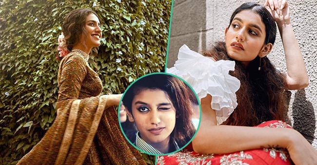 "Pics Of ""Winking Sensation"" Priya Prakash Varrier's Beauty Conversion Are Unmissable"