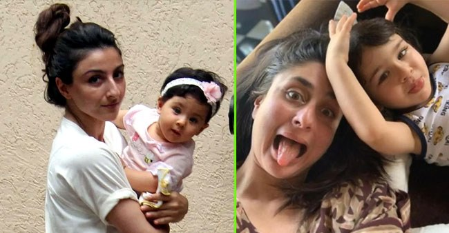 Bollywood actresses that have proved that they are protective mothers