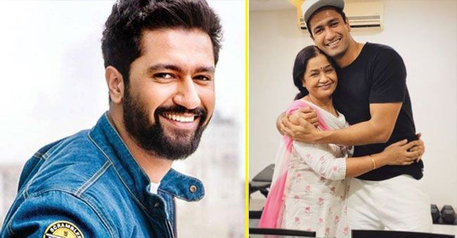 Mama's boy Vicky Kaushal gives sweet wishes to his mother, Veena Kaushal