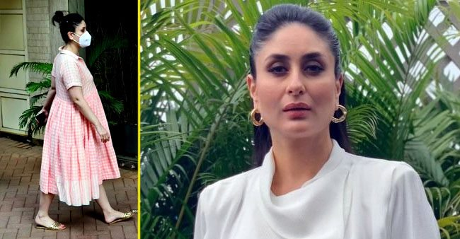 Mom-to-be Kareena Kapoor Khan dons a breezy dress as she steps out in the city